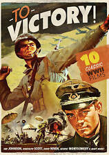 To Victory: 10 Classic WWII Films (DVD, 2015, 3-Disc Set) Movies Action