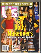 JESSICA SIMPSON JENNIFER LOPEZ US Magazine 3/14/05 OSCAR SPECIAL