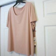 BEAUTIFUL RUBY RD. SHORT SLEEVE SCOOP NECK TOP - 3X - NWT!