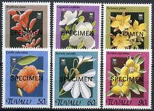Tuvalu 1994 Sg # 584-9 Flores optd Modelo Mnh Set #a 86183