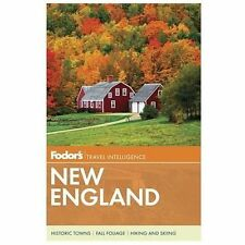 Fodor's New England Full-color Travel Guide