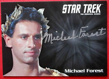 STAR TREK TOS 50th, MICHAEL FOREST as Apollo, LIMITED EDITION (Silver) Autograph