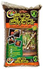 Zoo Med Eco tierra suelta Paquete 8.8L SUSTRATO de COCO Gecko Araña
