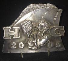 HOG Harley Davidson Owners Group Delaer Officer 2005 Award Plaque Medallion