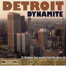 DETROIT DYNAMITE 21 Northern Soul Wonders NEW & SEALED RARE CD R&B (MAPLE ST)