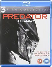 PREDATOR TRILOGY (1987-2010) BLU-RAY ALL REGION 3 DISC ARNOLD SCHWARZENEGGER