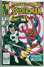 Marvel Comics Marvel Tales #219 January 1989 Spiderman & Punisher NM-