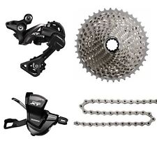 Shimano XT M8000 1x11 Speed MTB Groupset 4 pcs, XT M8000 11-42T, 116 Medium Cage