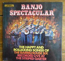 THE BARRELHOUSE SIX - Banjo Spectacular 1971 Vinyl LP.