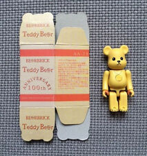 bearbrick be@rbrick teddy be@r bear 100th anniversary 100% medicom
