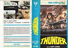 Thunder (1983) VHS