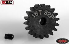 RC4WD 18t 32p Hardened Steel Pinion Gear with grub scred 3.2mm R3 AX2 Z-G0066