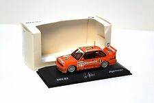 1:43 Minichamps BMW M3 E30 Jägermeister Hahne DEALER NEW at PREMIUM-MODELCARS