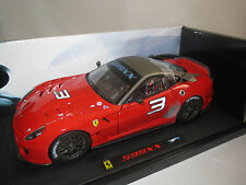Hot Wheels Elite  Ferrari  599XX  #3  (rot) 1:18  OVP !!!