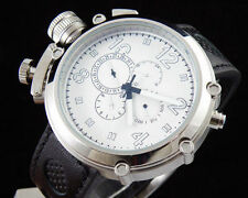 50mm Parnis white dial Big Face Lefty automatic movement men's watch 256