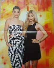 KENDALL & KYLIE JENNER // DEMI LOVATO  __  1  POSTER  __  SIZE :  42 cm x 53 cm