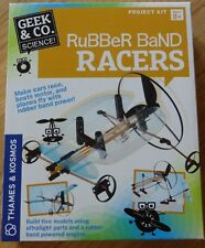 Rubber Band Racers Geek & Co. Science Project Kit THames & Kosmos