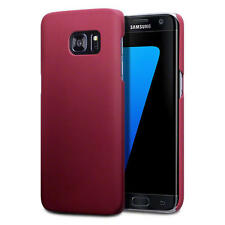 Thin Slim Armour Rubberised Hard Back Cover Case for Samsung Galaxy S7 Edge - Re