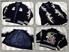 "SUKAJAN Velveteen fly dragon jacket ( japanese M ) ""FRESH BOX"" American eagle"