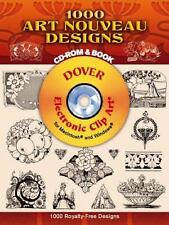 571 Art Nouveau Designs CD-ROM and Book (Dover Electronic Clip Art), D. M. Campa