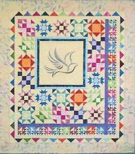 Colors of Hope medallion sampler quilt pattern by Painted Pony 'n Quilts
