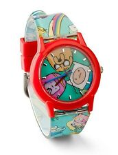 Adventure Time Wrist Watch Same worn by Deadpool Movie Analog Cosplay RARE