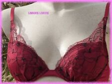 SOUTIEN GORGE CHANTELLE N°3217 ROUGE FR90B/EUR75B/ITA3B/UK34B/USA34B