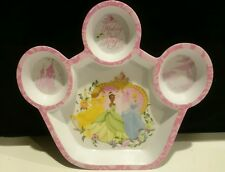 DISNEY PRINCESS  Kids Dish Plate Toddler by Cudlie