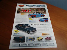 TRAX CATALOGUE 2ND EDITION 2009 FX RSL TAXI EH RAAF UTE HQ LH XP XW HQ MONARO
