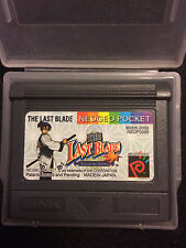 The Last Blade: Beyond The Destiny (NeoGeo Pocket Color) w/ Clear Case: TESTED!