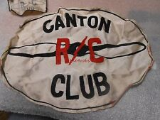 Vintage Canton Remote Control R/C Club Jacket Patch Ohio