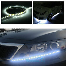"12"" 6 PCS 15LED Flexible Strip Underbody Light Waterproof For Car Truck Boat 12V"
