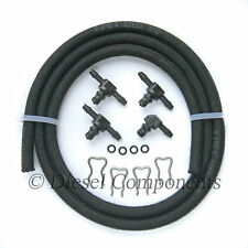 Alfa Romeo 146 Leak-Off Connector Kit inc 1 x 90, 3 x 180 & 1Mtr Leak-Off Hose