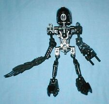 LEGO BIONICLE 8534 TAHU in ALL BLACK, CUSTOM BUILT free ship