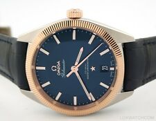 OMEGA CONSTELLATION GLOBEMASTER 18K ROSE GOLD STEEL 130.23.39.21.03.001 WATCH