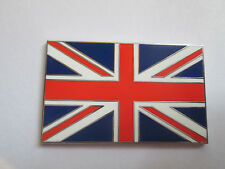 Union Jack Metal Enamel Badge Ideal Classic Car Badge Self Adhesive 3M F007
