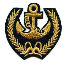 Écusson patch ANCRE ANCHOR voiles MARINE NAVIGATION MARITIME