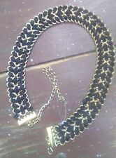 NEW ZARA Chain Belt in Black and Gold
