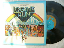 LOGAN'S RUN LP JERRY GOLDSMITH mgm 2315 376.....N/M..... 33 rpm / soundtrack