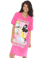 Disney Minnie Mouse Beautiful Morning Pink Sleep Shirt