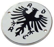 ADAC Club Deutschland car grille badge 3-1/2 inch dia.