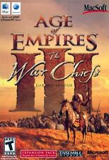 Age of Empires III: The WarChiefs (Mac, 2007) *New,Sealed*