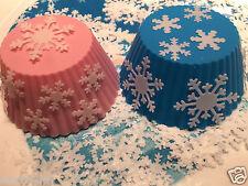 200 Copo De Nieve Comestibles De Oblea / Papel De Arroz se puede utilizar para Disney Frozen Pasteles FCT