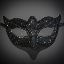 Petite Venetian Paper Mache Mardi Gras Masquerade Ball Mask for Women