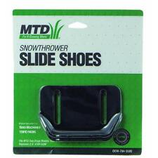 MTD Yard Machines Yard-Man Snow Blower Thrower Slide Shoes OEM 784-5580