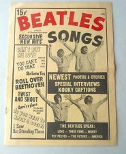 BEATLES SONGS SPECIAL INTERVIEWS LOVE THEIR FANS MONEY THEIR FUTURE USA 1964