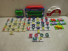 LEAP FROG FRIDGE PHONICS WORD WHAMMER 58 ALPHABET LETTERS FARM ANIMALS