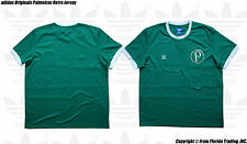adidas Originals Palmeiras 13/14 Retro Model Short Sleeve Jersey(2XL)Green