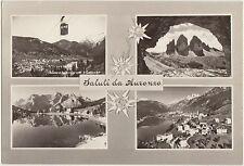 SALUTI DA AURONZO - VEDUTINE (BELLUNO) 1967
