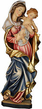 "STATUA MADONNA DELLA PACE cm. 80 LEGNO  - OUR LADY of Peace 31,49""  WOODCARVING"